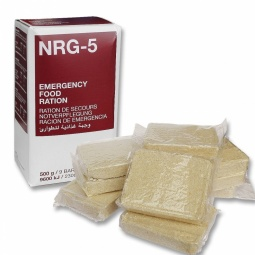 Visokoenergijski suhi obrok (emergency rations) NRG-5, 500 g