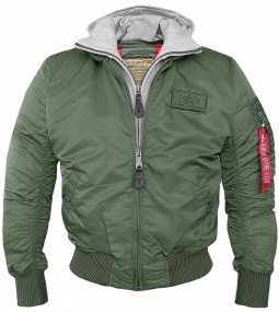 Jakna Alpha Industries MA1 D-Tec Sage green