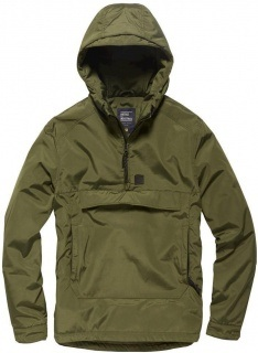 Vintage Industries Hopwood anorak oliven