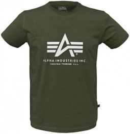 Alpha Basic T-shirt - rumena