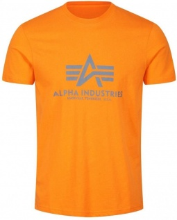 Alpha Basic T-shirt - flame orange
