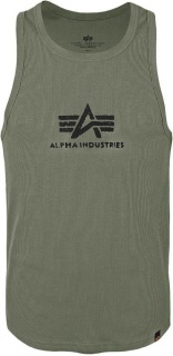 Alpha Industries LOGO Tank zelena