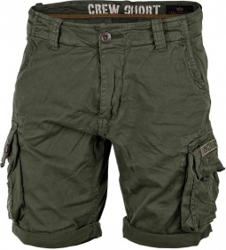 Alpha Industries Crew Short (olivno zelene)