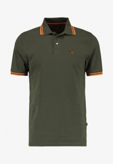 Alpha industries Twin Stripe Polo (Olive)