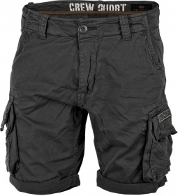 Alpha Industries Crew Short črne